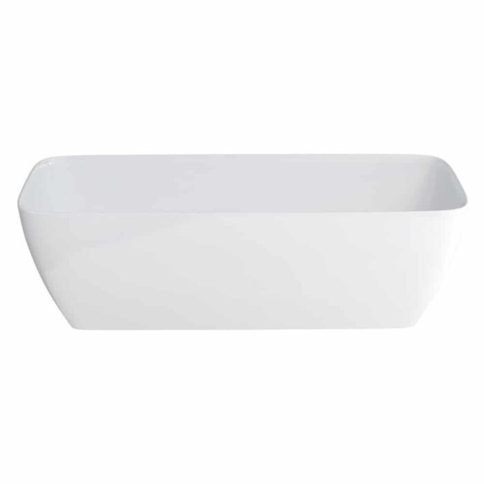N7DCS+CW13 Clearwater Vicenza Grande Clear Stone Freestanding Bath White_2