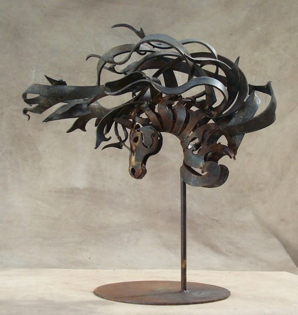 Horse Metal Art Sculpture