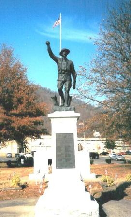 Logan West Virginia Viquesney Doughboy Statue  The E M