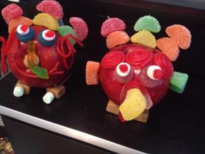 our apple turkeys