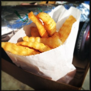 fries whiz koreatown