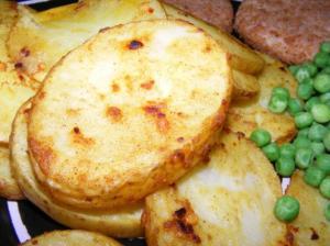 moroccan potato slices