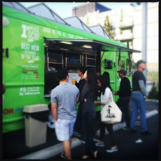 Lime Truck Food Truck