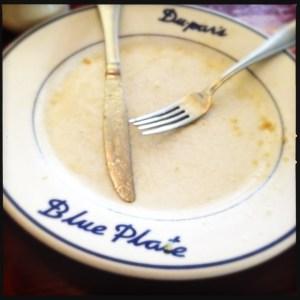 Du-par's blue plate