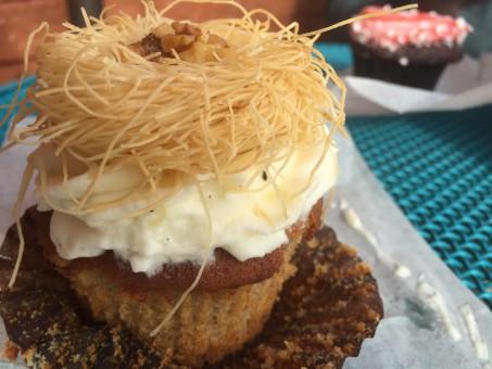 Baklava Cupcake
