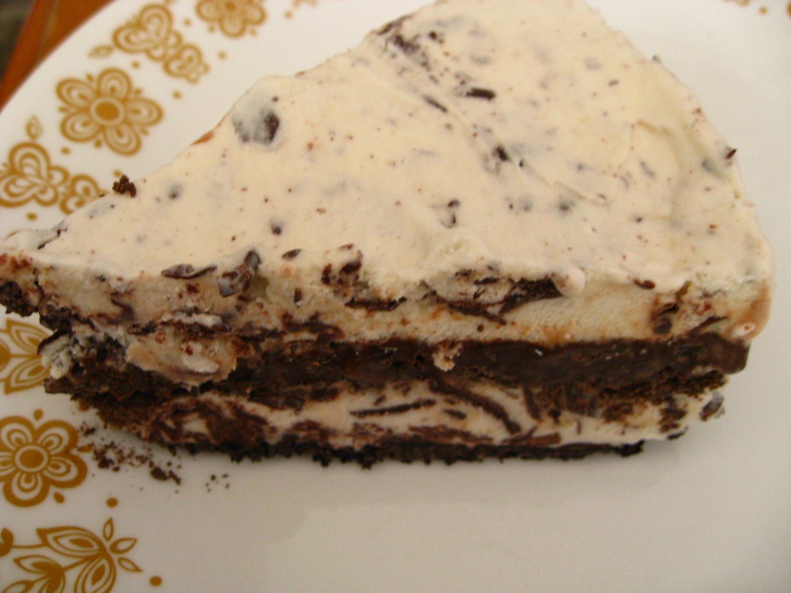 mint ice cream cake