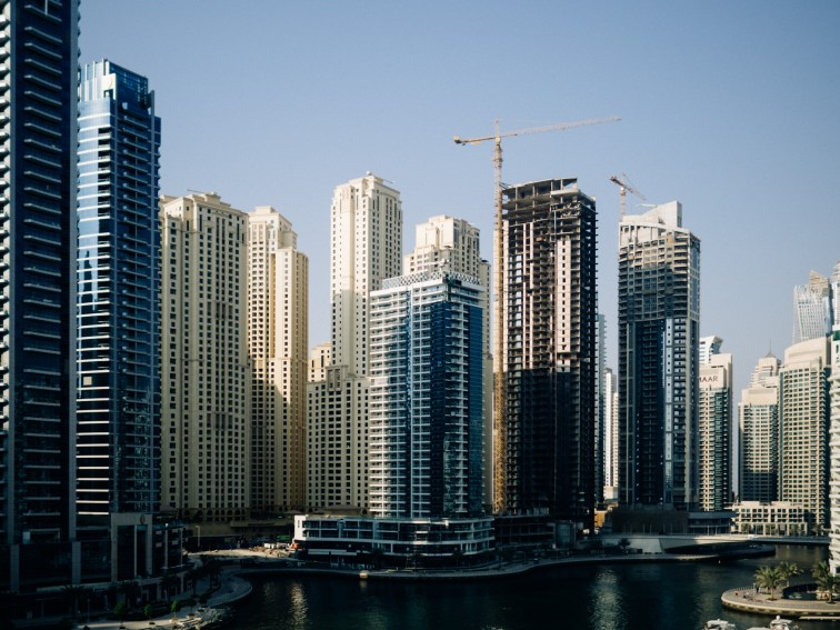 Dubai Marina, Olympus 45mm f1.8 Dubai Street photography