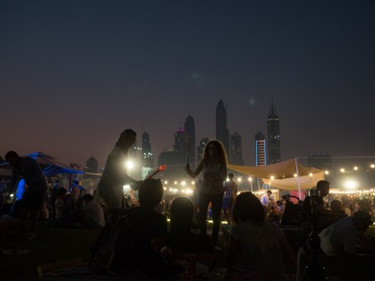 Groove on the Grass at Emirates Golf Course Dubai. #17mm f1.8 #Olympus #Olympus EM5 ii