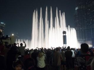 Dubai Mall, Water display