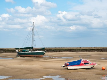 Moored by the sand