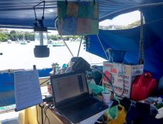 Natalie's Cockpit Writing Station