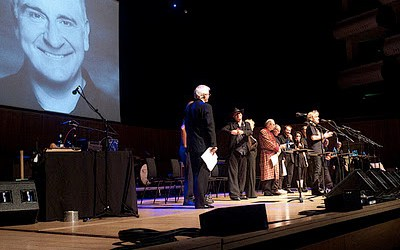 Douglas Adams' virtual birthday party & Hitchhiker Live 2012
