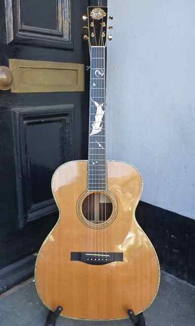 Douglas Adams left hand guitars collection for sale !