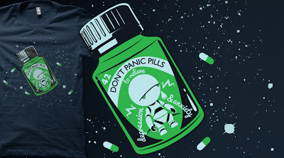 Limited edition Marvin T-shirt on Qwertee