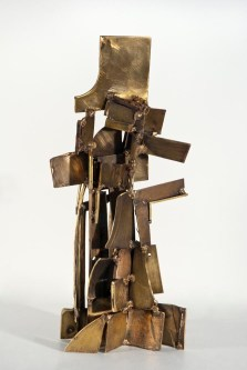 History Lesson, 2010. Brass, bronze. 20 x 9 x 8 in.