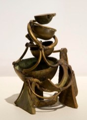Metrical Flight, 2001. Bronze, brass. 7 x 5 x 5 in.