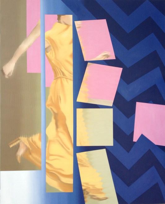 Breakdown, Oil on canvas, 60 x 48