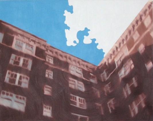 Cloud, Oil on canvas, 48 x 60