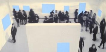 Fringe, Oil on canvas, 30 x 60