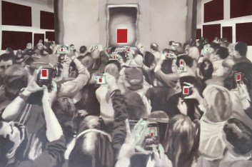 Lisa, Oil on canvas, 40x60