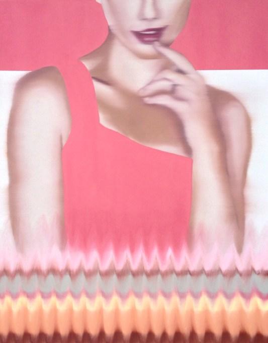 Petunia, Oil on canvas, 30 x 24