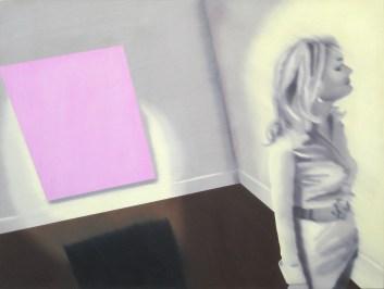 Daydream, Oil on canvas, 36 x 48