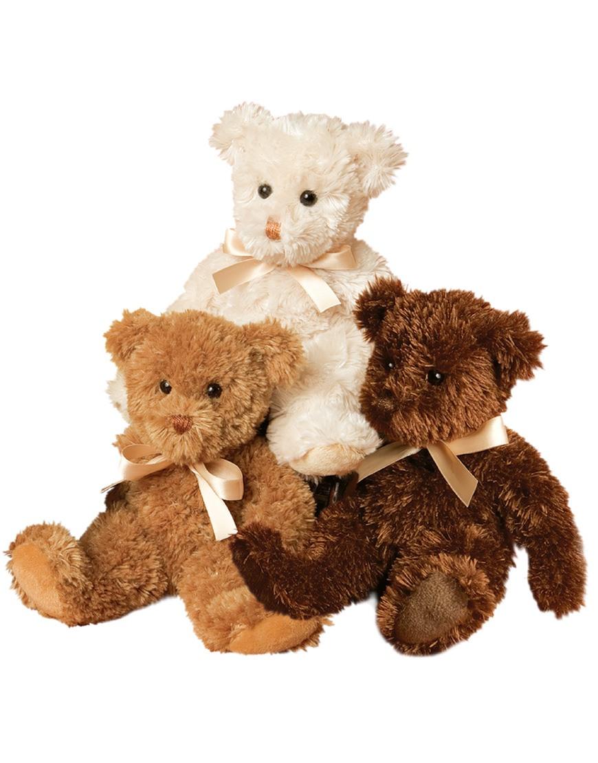 chocolate fuzzy teddy bear