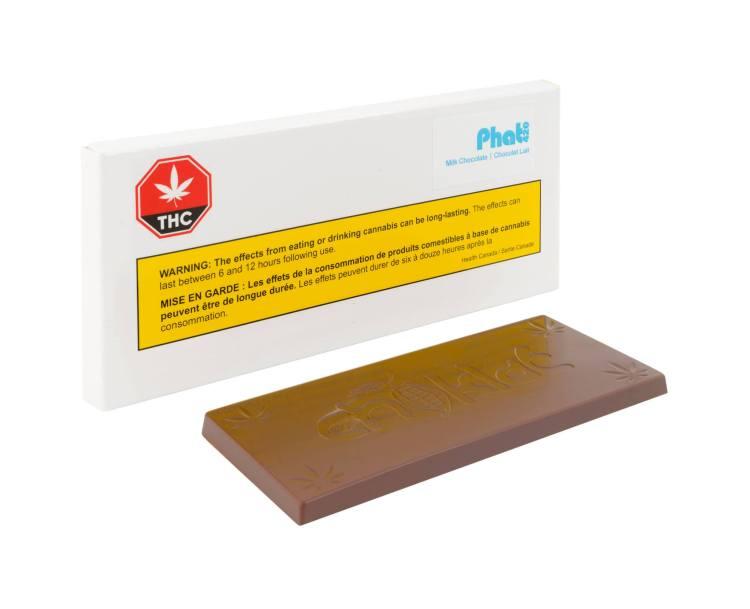 Phat 420 Milk Chocolate Bar by Choklat