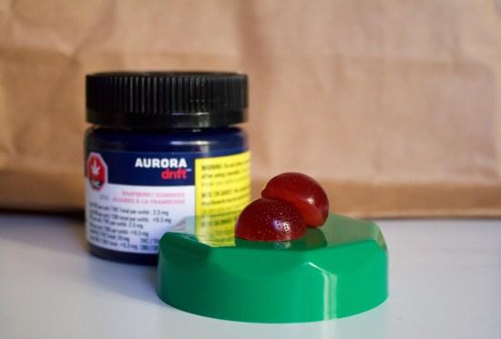 Aurora Raspberry Drift Gummies
