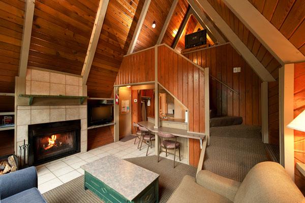 kitchen maid makeover 2 bedroom a-frame chalet - douglas fir resort & chalets ...