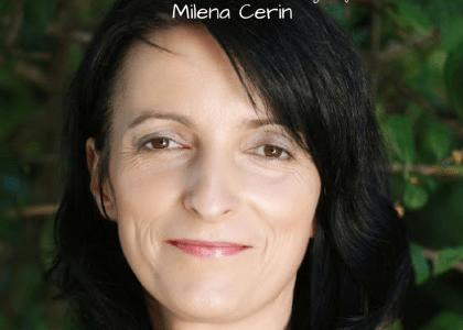 Milena Cerin on The Happiness of Pursuit Podcast