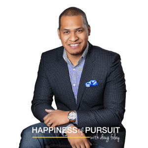 AJ Adams on The Happiness of Pursuit Podcast #76