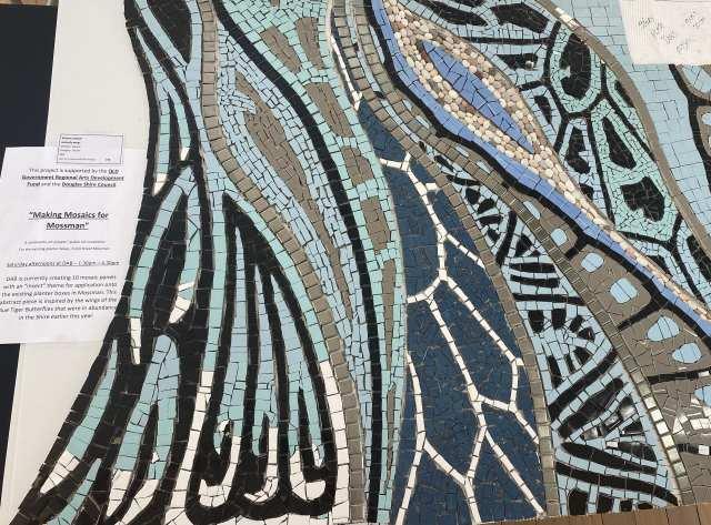 making mosaics for mossman
