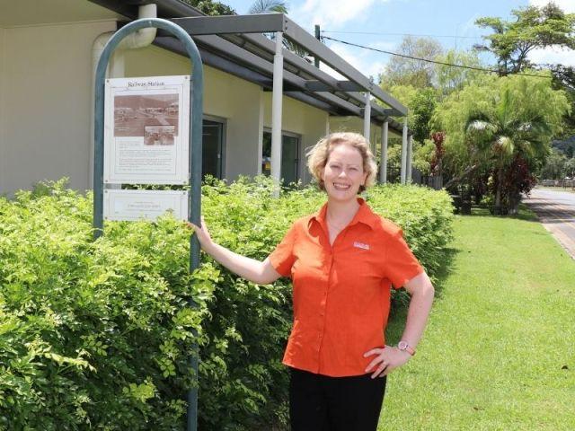 Amy Inglis, team leader Douglas Libraries