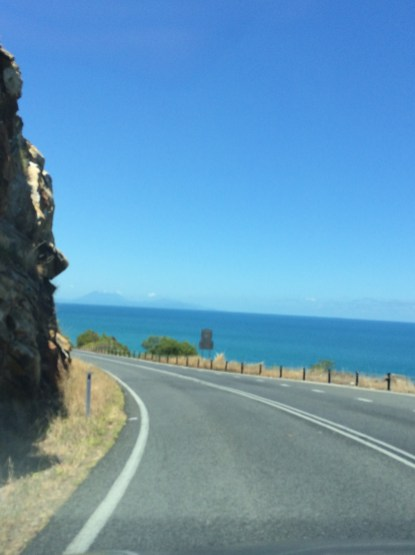 Road from Cairns to Cape Tribulation
