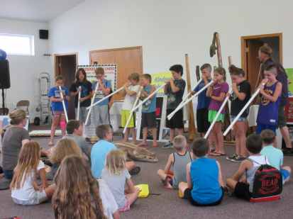 Didgeridoo Down Under sponsored by Friends of the Library