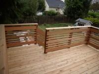 Horizontal deck railing |  Douglas Shepherd  Fine ...