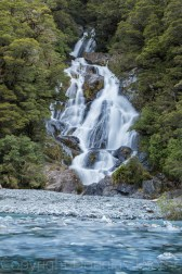 Fantail Falls on the West Coast
