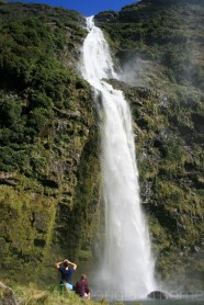 Sutherland Falls on the Milford Track