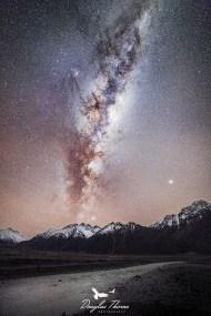 Milky Way over Aoraki/Mount Cook