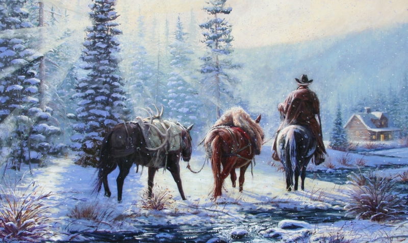 Wild Horses Running Free Originals All Artwork