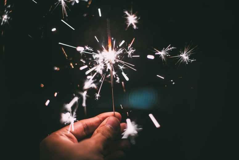 sparkler new year s eve sylvester sparks