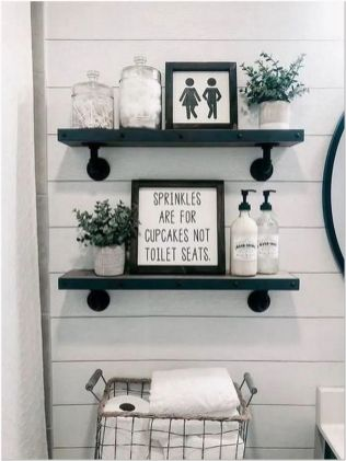 66 Small Bathroom Storage Ideas And Wall Storage Solutions 1