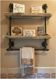 66 Small Bathroom Storage Ideas And Wall Storage Solutions 14