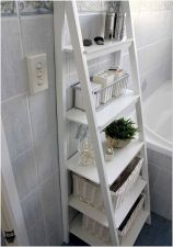 66 Small Bathroom Storage Ideas And Wall Storage Solutions 23