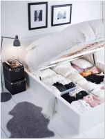 64 DIY Bedroom Storage Ideas For Small Spaces 24