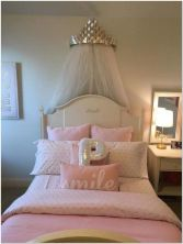 66 Lovely Pink Bedroom Design Ideas For Your Teen Girl 11