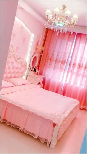 66 Lovely Pink Bedroom Design Ideas For Your Teen Girl 3