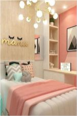 66 Lovely Pink Bedroom Design Ideas For Your Teen Girl 8