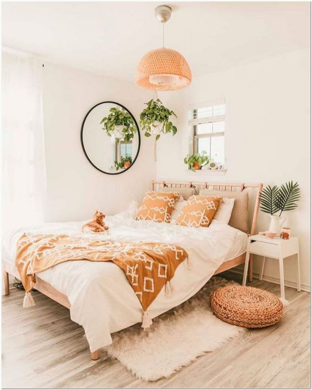 67 Our Favorite Boho Bedrooms (and How To Achieve The Look) 3